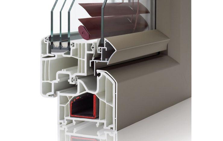 Les fenêtres PVC de couleur