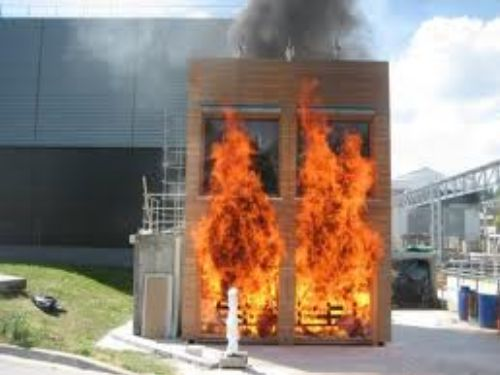 Des verres de protection contre le feu