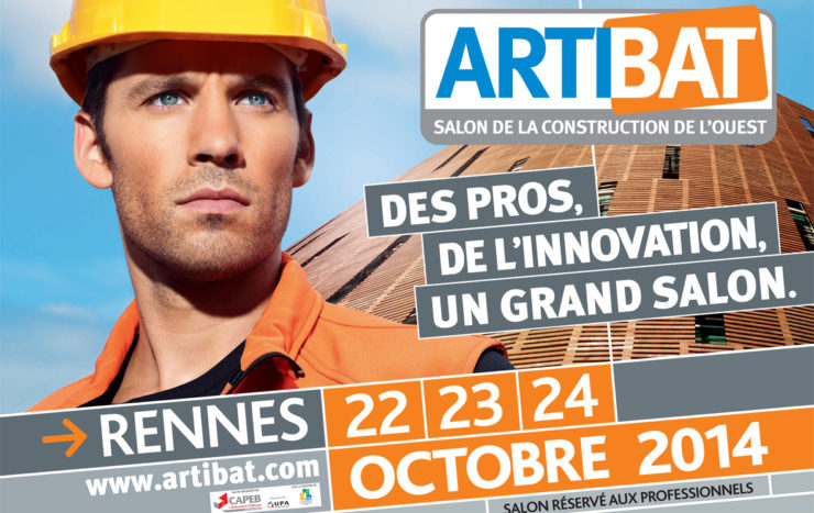 Le salon Artibat 2014 se tiendra du 22 au 24 octobre à Rennes