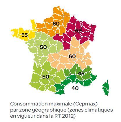 Quelles sont les particularit s locales de l 39 habitat - Zone climatique rt 2012 ...