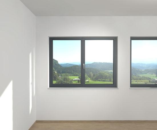 Les portes et fen tres la fran aise internorm - Fenster innen weiay auayen anthrazit ...