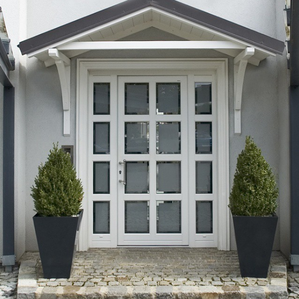 porte vitrée internorm