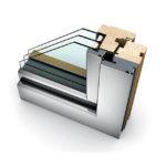 fenêtre bois triple vitrage HF 310 home soft