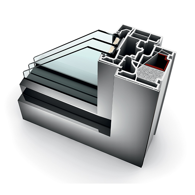 fenêtre PVC triple vitrage KF 410 home pure
