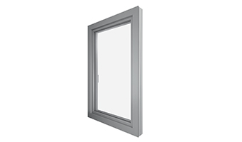 Fenêtres Alu (alu / PVC)