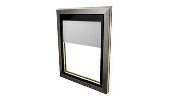 Fenêtres bois à store intégré