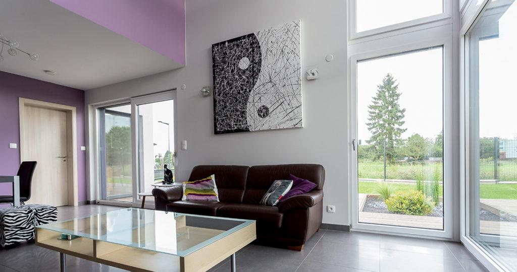 porte fen tre pvc triple vitrage translation kf 410 internorm. Black Bedroom Furniture Sets. Home Design Ideas