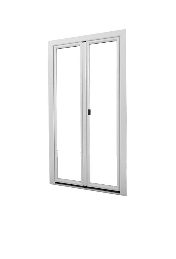 Portes-fenêtres Alu (alu / PVC)