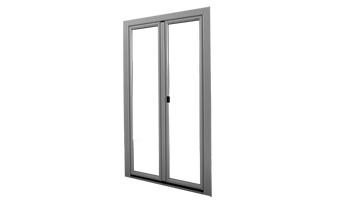 Portes-fenêtres alu à la française