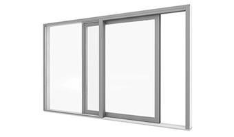 Portes-fenêtres alu à levage