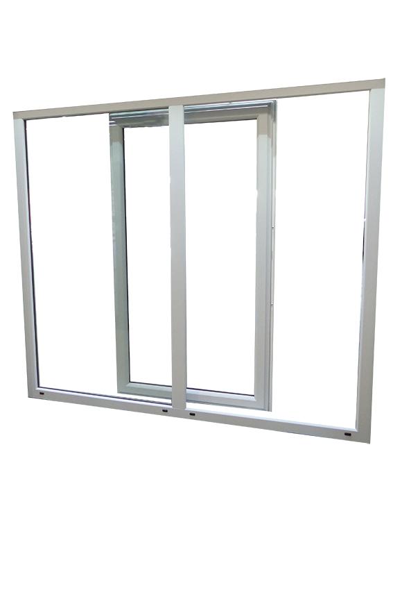 Portes-fenêtres alu à translation