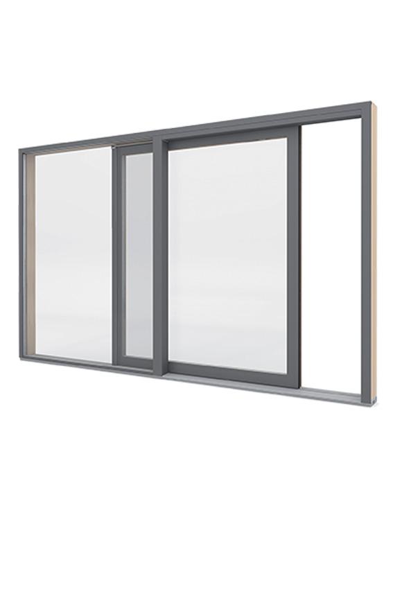 Portes-fenêtres bois à levage