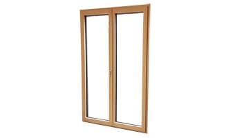 Portes-fenêtres Bois (bois / alu)