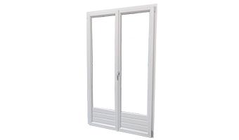 Portes-fenêtres PVC à la française
