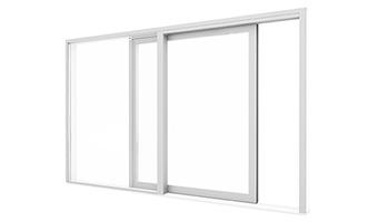 Portes-fenêtres PVC à levage