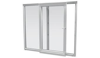 Portes-fenêtres PVC à translation