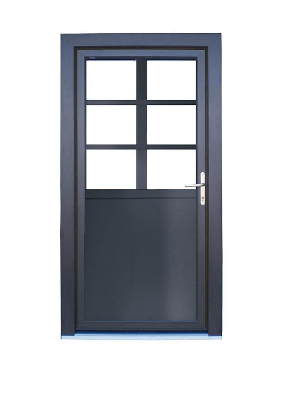 Porte PVC classique C-5