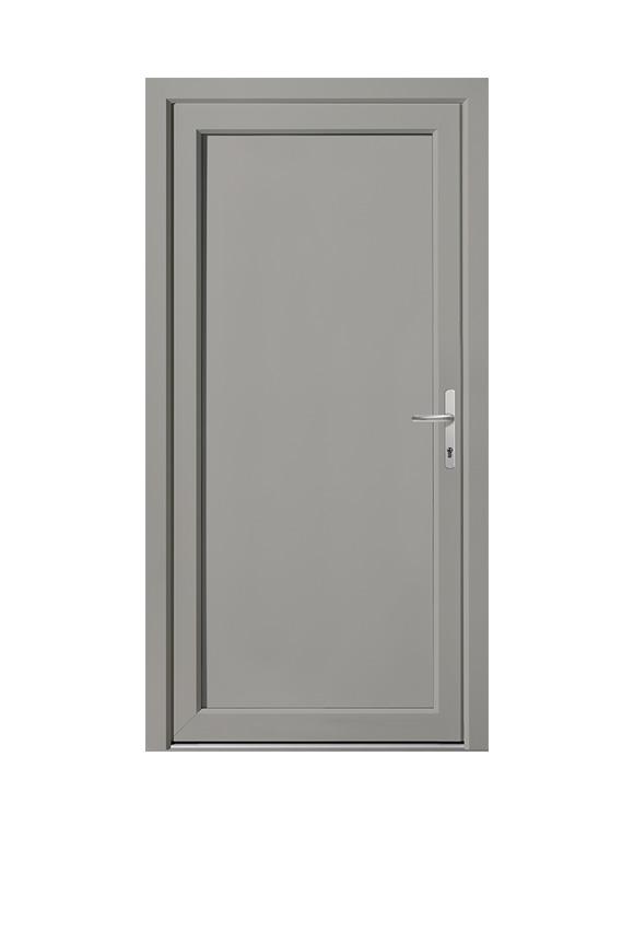 Porte PVC classique C-6