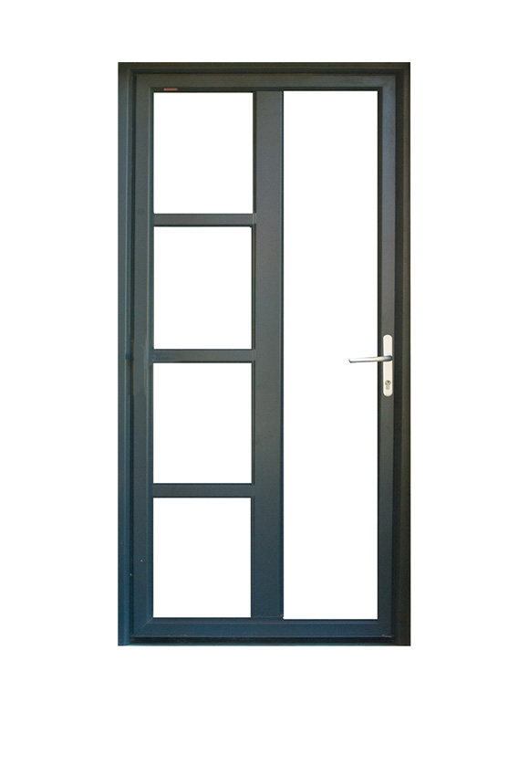 Porte PVC contemporaine M-1V4V