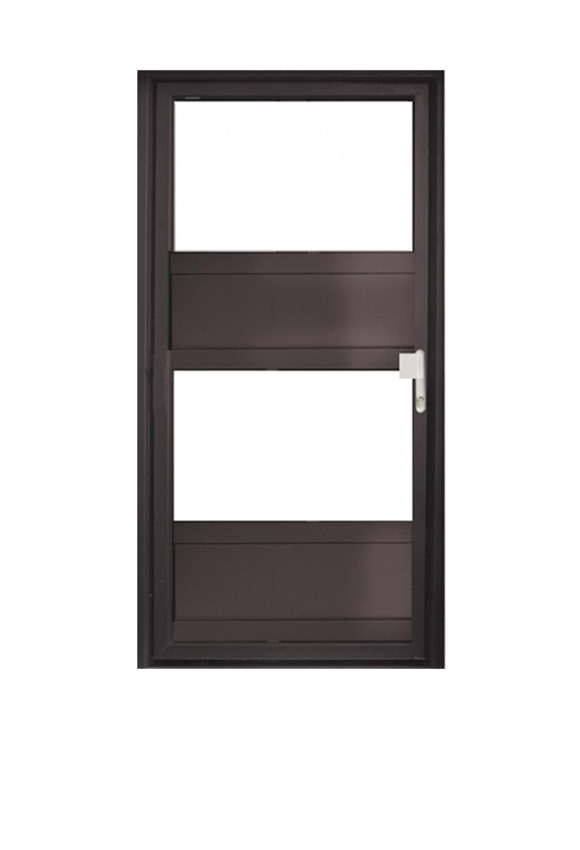 Porte PVC contemporaine M-2P2V