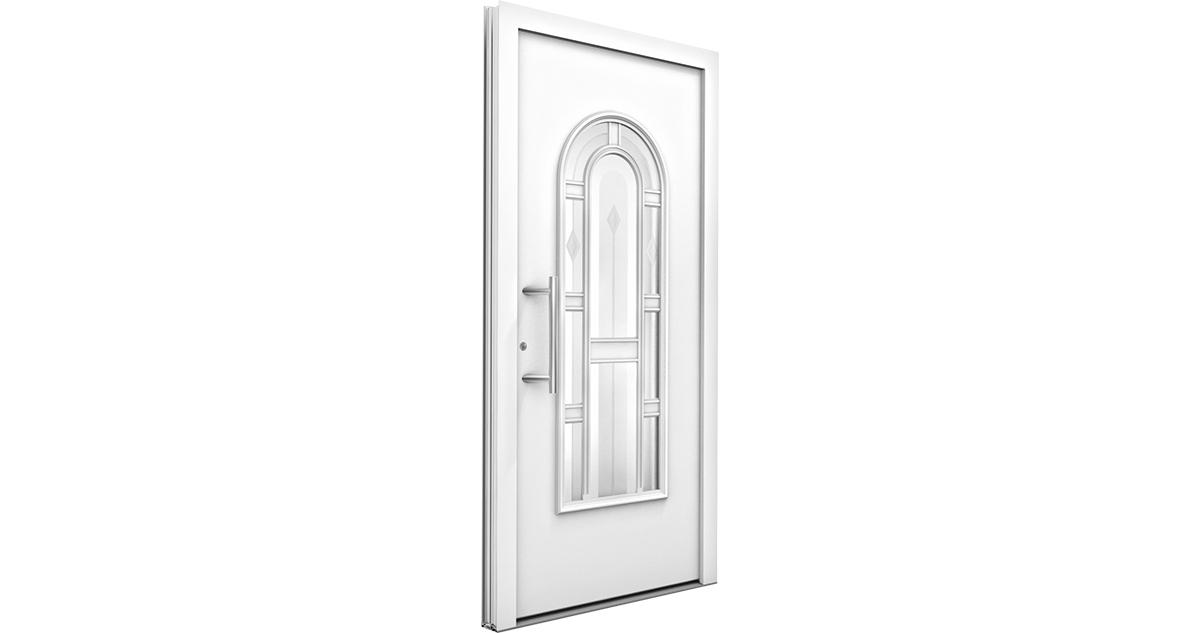 Porte alu classique am internorm for Largeur porte classique