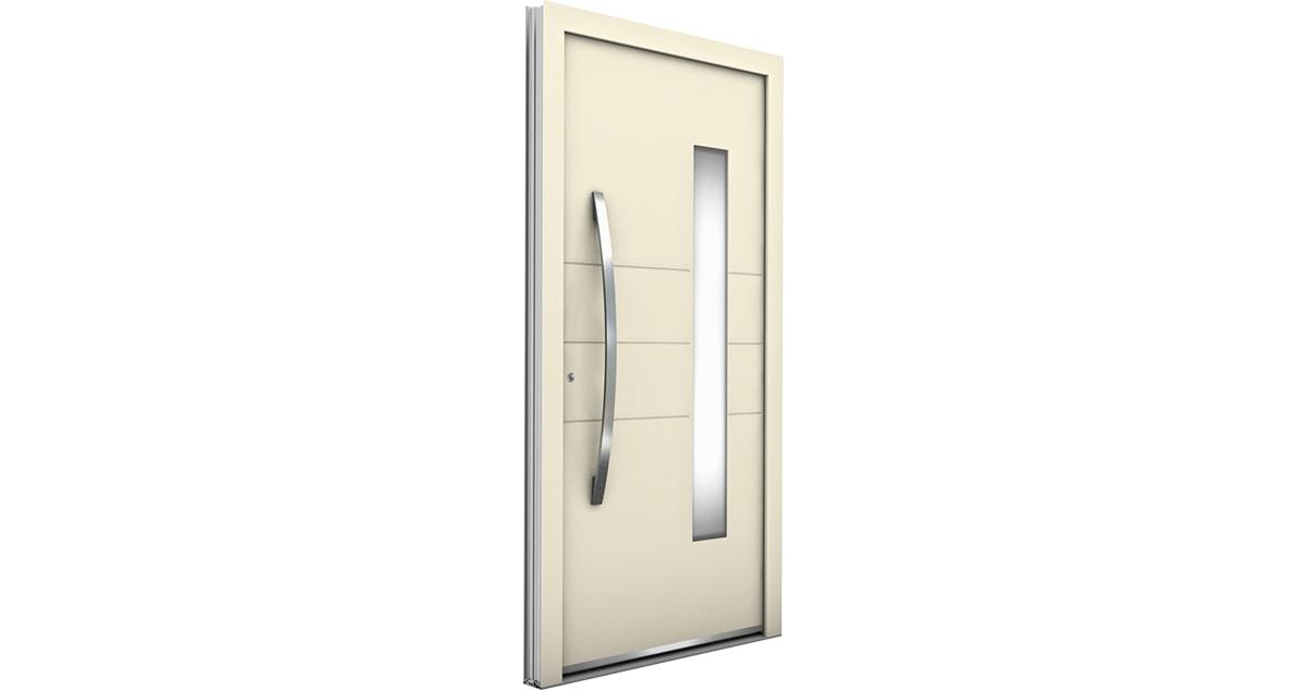 Porte alu contemporaine pj internorm for Porte contemporaine