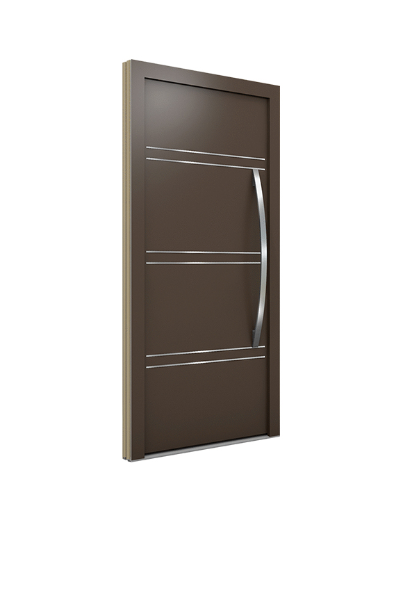 Porte Bois contemporaine FJ