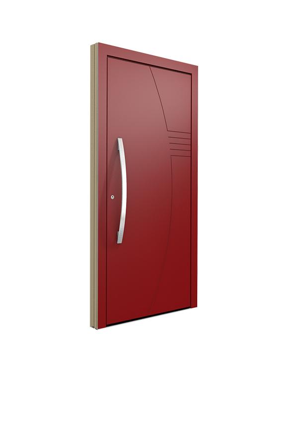 Porte bois contemporaine for Porte interieure contemporaine prix