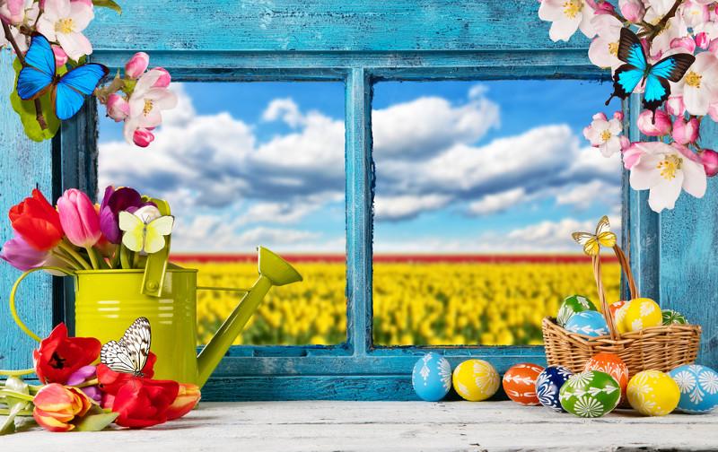 Déco : comment décorer ses fenêtres pour Pâques ?