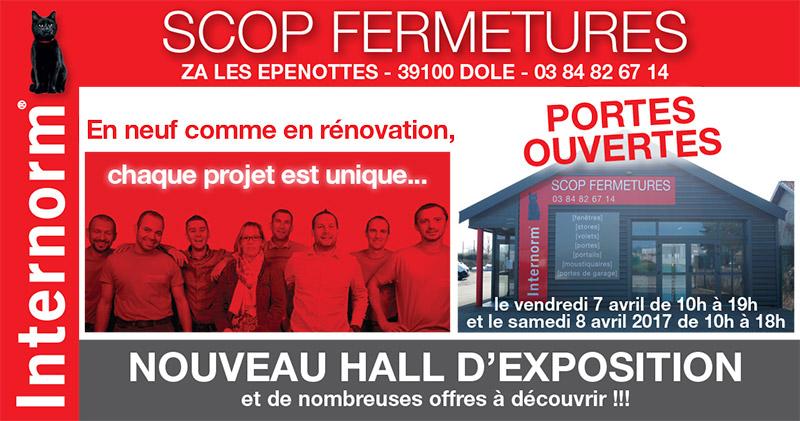 portes ouvertes SCOP FERMETURES 7 et 8 avril 2017