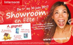 En Juin chez Internorm, les showrooms sont en fête !