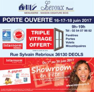 Portes Ouvertes du 16 au 18 juin 2017