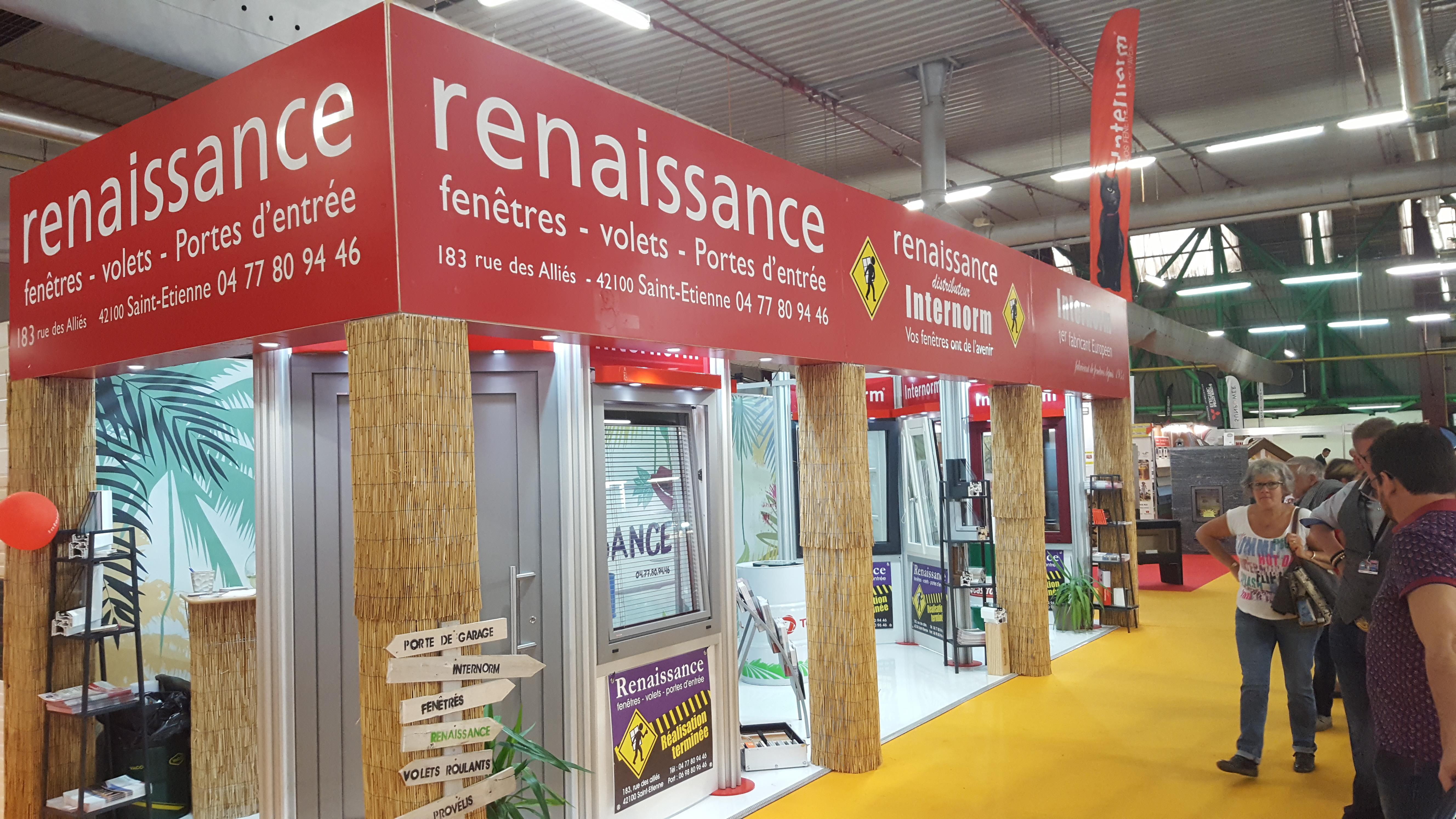 Renaissance sur la Foire de Saint-Etienne