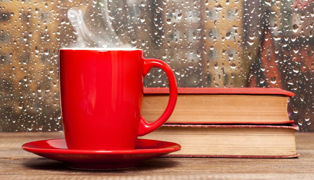 fenetre café pluie