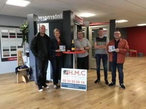 Les 2 grands gagnants d'une Smartbox chez HMC – opération Showroom en Fête