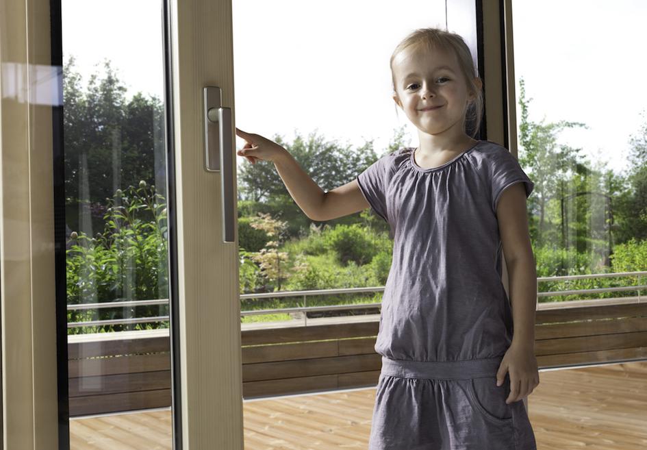 Poignées de fenêtres sécurisées