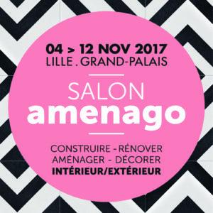 Rendez-vous au Salon Aménago à Lille du 4 au 12 novembre 2017