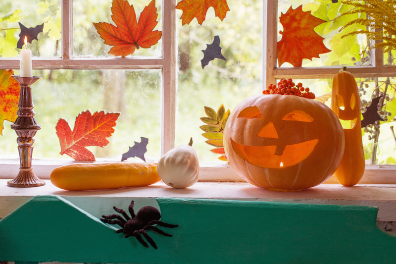 Décorer sa fenêtre pour Halloween