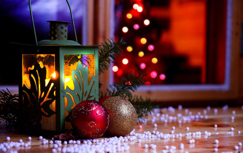 Décorer ses fenêtres à Noël