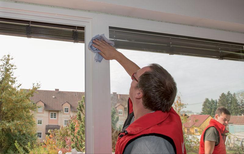 Chantier rénovation fenêtres Internorm