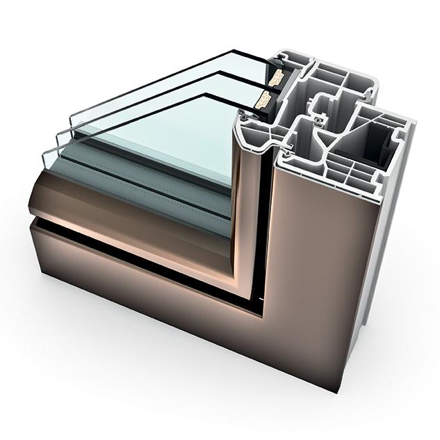porte fen tre alu triple vitrage translation kf 310 internorm. Black Bedroom Furniture Sets. Home Design Ideas