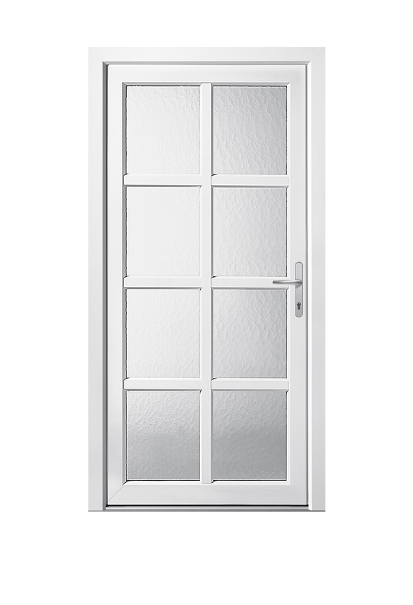 Porte PVC classique C-10