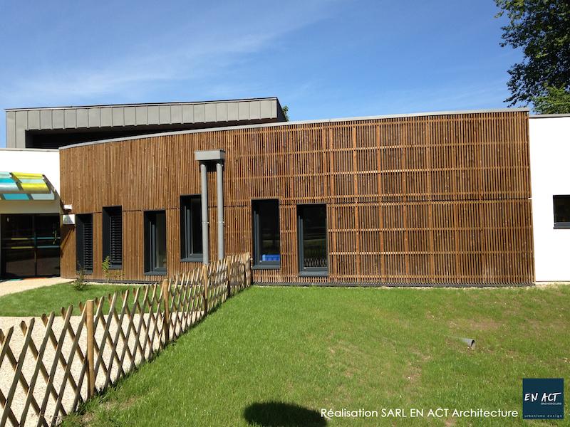 Centre Multi-Accueil Bâtiment passif menuiseries Internorm