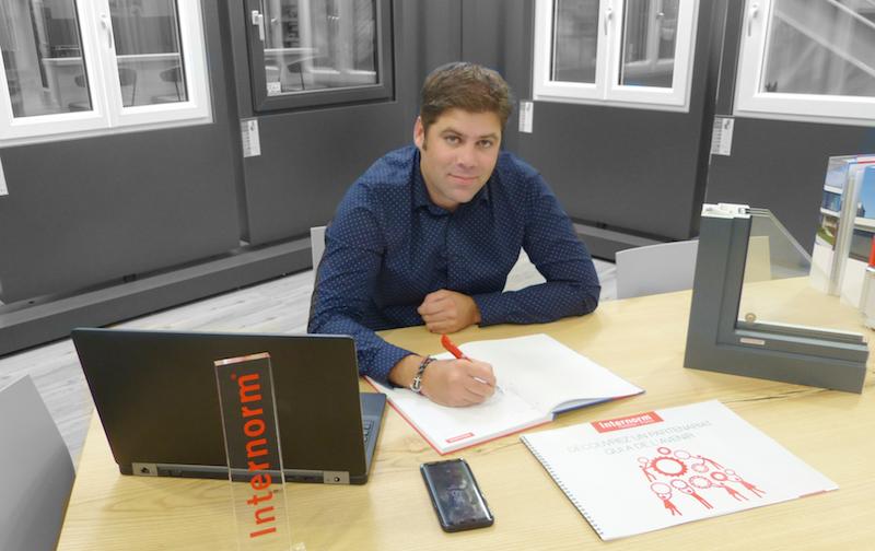 Maxime P. Directeur commercial Internorm France