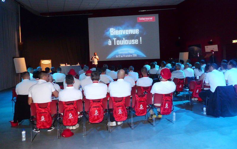 Convention pilotes 2018 Internorm à Toulouse