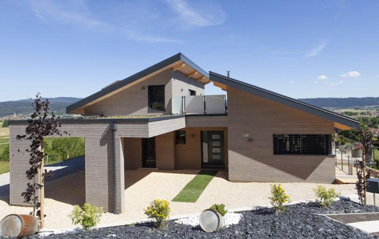 Projet de maison ossature bois à Dommartin dans le Doubs