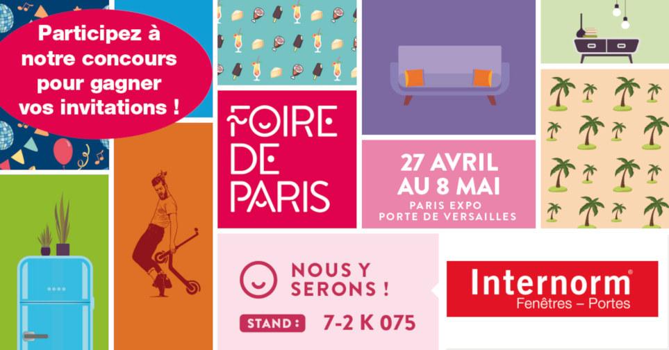 Gagnez vos places pour la Foire de Paris 2019 !