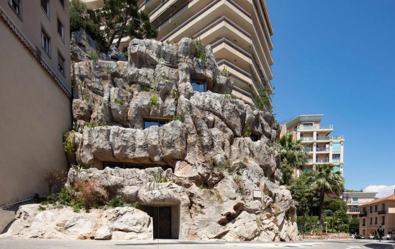 Villa troglodyte Effinergie + Monaco