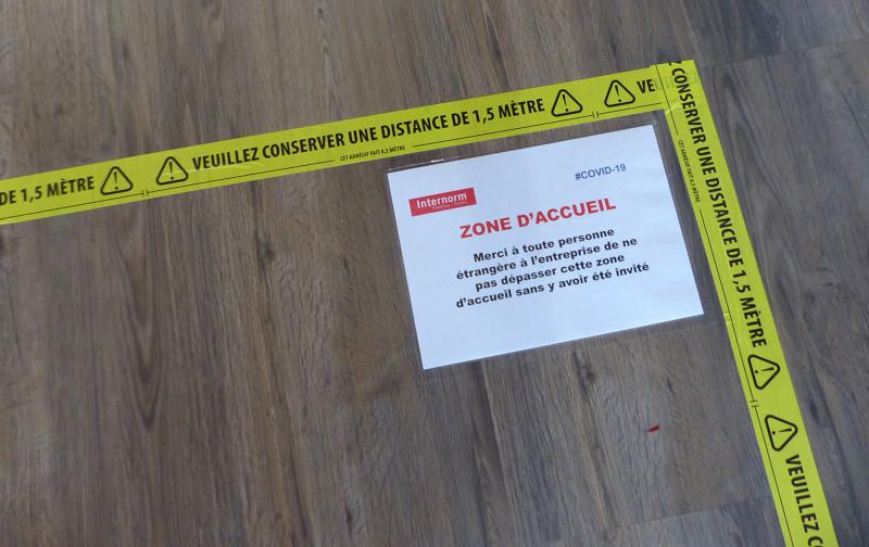 Les équipes d'Internorm France sont prêtes à accueillir les visiteurs, dans le respect des consignes mises en place pour la sécurité de tous !