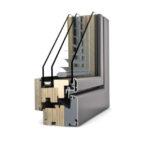 Fenêtre bois à store intégré HV 450